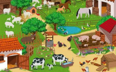 Wkolorowej wiejskiej zagrodzie – zabawy dla grupy średniaków istarszaków