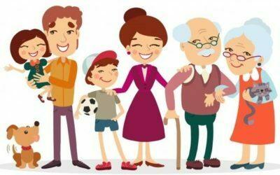 Zabezpieczony: Szczęśliwa rodzina – zabawy dla grupy maluszków