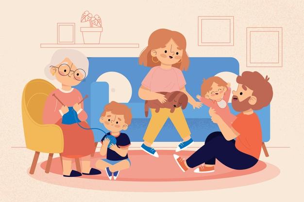 Zabezpieczony: Moja rodzina- zabawy dla grupy maluszków