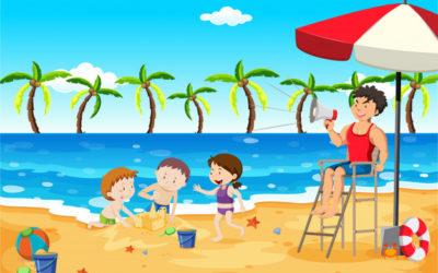 Zabezpieczony: Bezpieczne wakacje- zabawy dla grupy maluszków