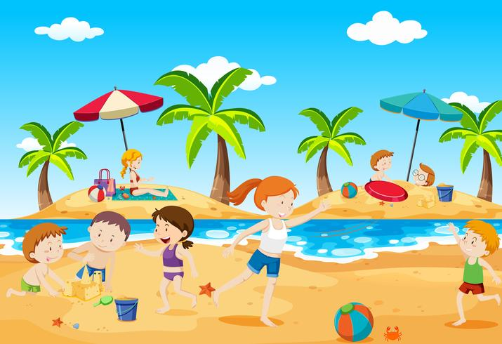 Zabezpieczony: Nadchodzą wakacje!- zabawy dla grupy maluszków