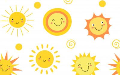 Zabezpieczony: Lato wkolorze słońca- zabawy dla grupy maluszków